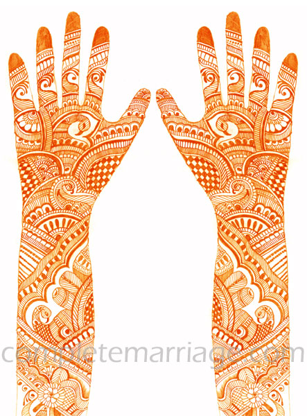 Rajasthani Mehndi Design Hands, Rajasthani Mehndi Designs for Hands ...